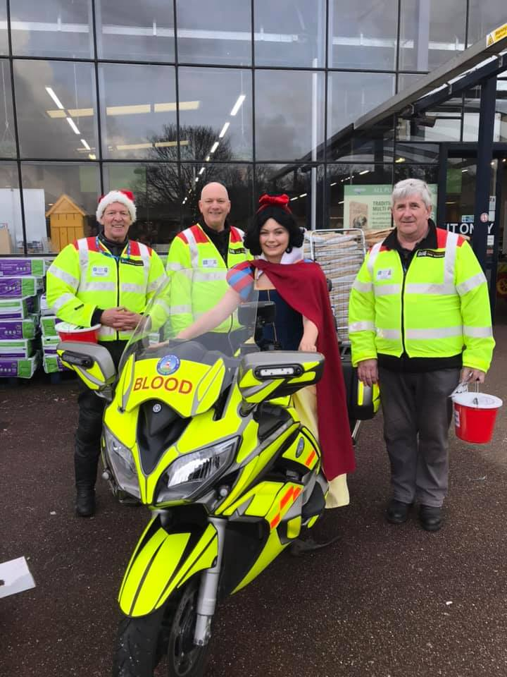 BloodBike Fundraising