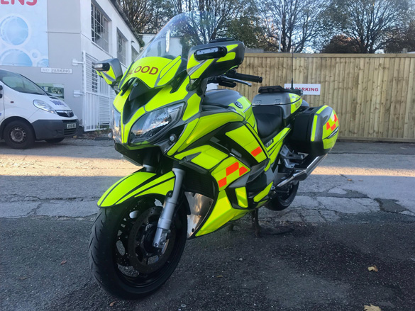 South West Blood Bikes Vehicle One Article